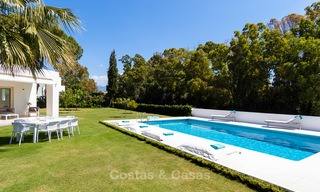 Modern villa for sale near the beach and frontline golf in Marbella - Estepona 4308