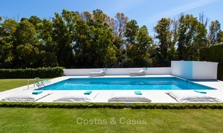 Modern villa for sale near the beach and frontline golf in Marbella - Estepona 4311