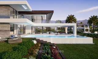 Special offer for the last villa! Key ready! Stunning, spacious, modern luxury villas with sea views for sale in a new complex between Estepona and Marbella 4329