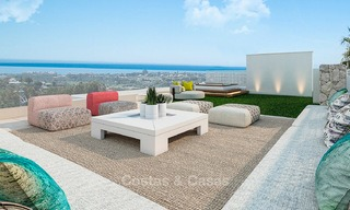 Delightful modern-contemporary villas for sale in a new boutique project between Estepona and Marbella 4383