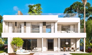 Delightful modern-contemporary villas for sale in a new boutique project between Estepona and Marbella 4390
