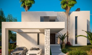 Delightful modern-contemporary villas for sale in a new boutique project between Estepona and Marbella 4393