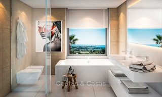 Delightful modern-contemporary villas for sale in a new boutique project between Estepona and Marbella 4396