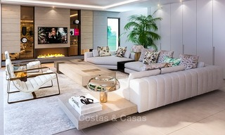 Delightful modern-contemporary villas for sale in a new boutique project between Estepona and Marbella 4397