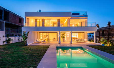 Delightful modern-contemporary villas for sale in a new boutique project between Estepona and Marbella 19697
