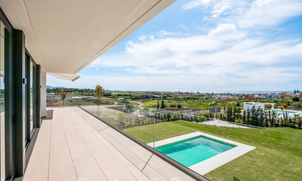 Delightful modern-contemporary villas for sale in a new boutique project between Estepona and Marbella 19703