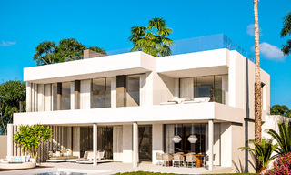 Delightful modern-contemporary villas for sale in a new boutique project between Estepona and Marbella 19719