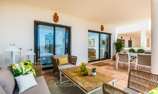 Bargain! Golf apartments and townhouses for sale in a golf resort, between Marbella and Estepona 4471