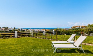 Bargain! Golf apartments and townhouses for sale in a golf resort, between Marbella and Estepona 4484