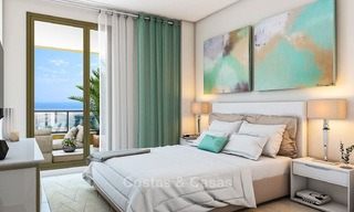 Great value, modern apartments with fantastic sea views for sale in Benalmadena, Costa del Sol 4509