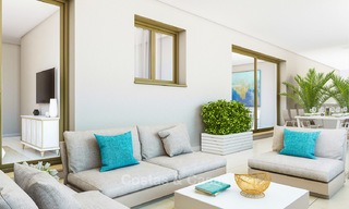 Great value, modern apartments with fantastic sea views for sale in Benalmadena, Costa del Sol 4514