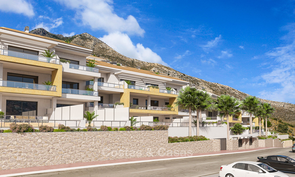 Great value, modern apartments with fantastic sea views for sale in Benalmadena, Costa del Sol 4519
