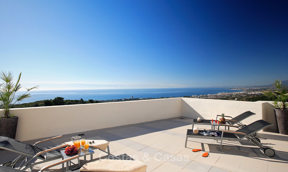 Luxury modern apartments for sale in Marbella with spectacular sea views 16210