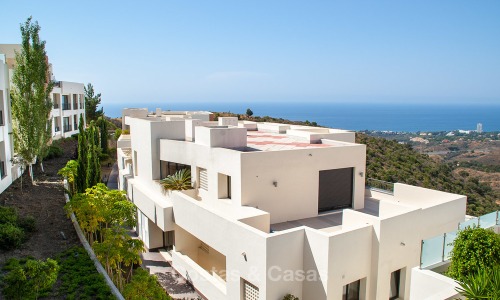 Luxury modern apartments for sale in Marbella with spectacular sea views 16217