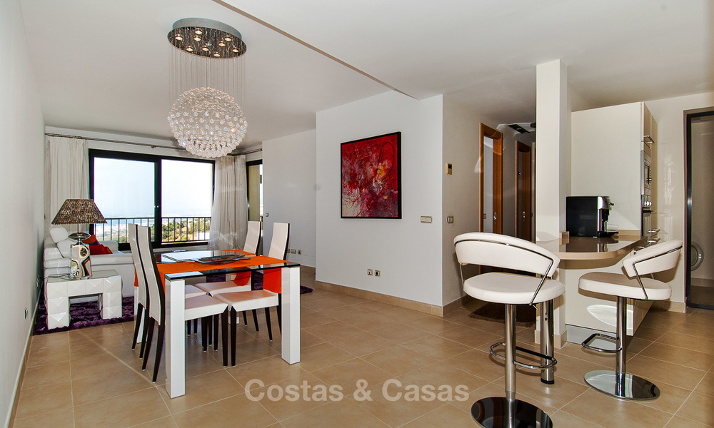 Luxury modern apartments for sale in Marbella with spectacular sea views 16219