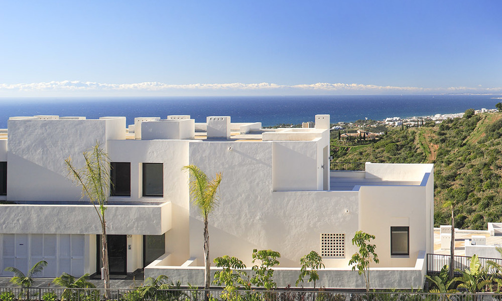 Luxury modern apartments for sale in Marbella with spectacular sea views 16227
