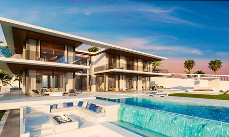 Luxurious modern villa with panoramic sea views for sale in Benahavis, Marbella 4717