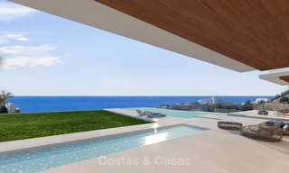 Luxurious modern villa with panoramic sea views for sale in Benahavis, Marbella 4718