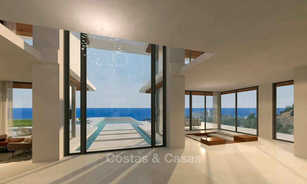Luxurious modern villa with panoramic sea views for sale in Benahavis, Marbella 4720