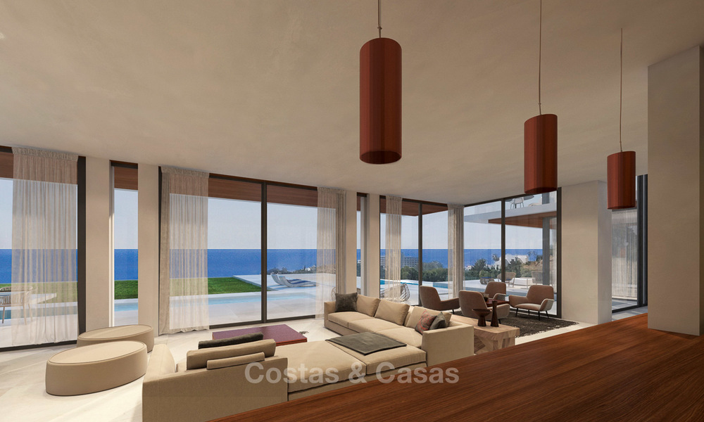 Luxurious modern villa with panoramic sea views for sale in Benahavis, Marbella 4721
