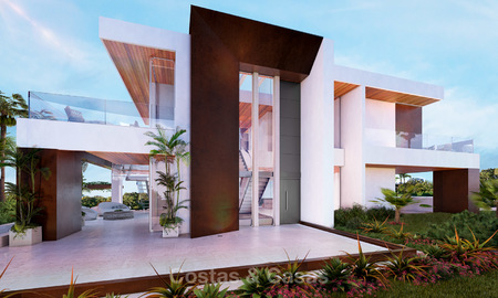 Two newly built luxurious, modern-contemporary villas for sale for the price of one, Nueva Andalucia, Marbella 4728