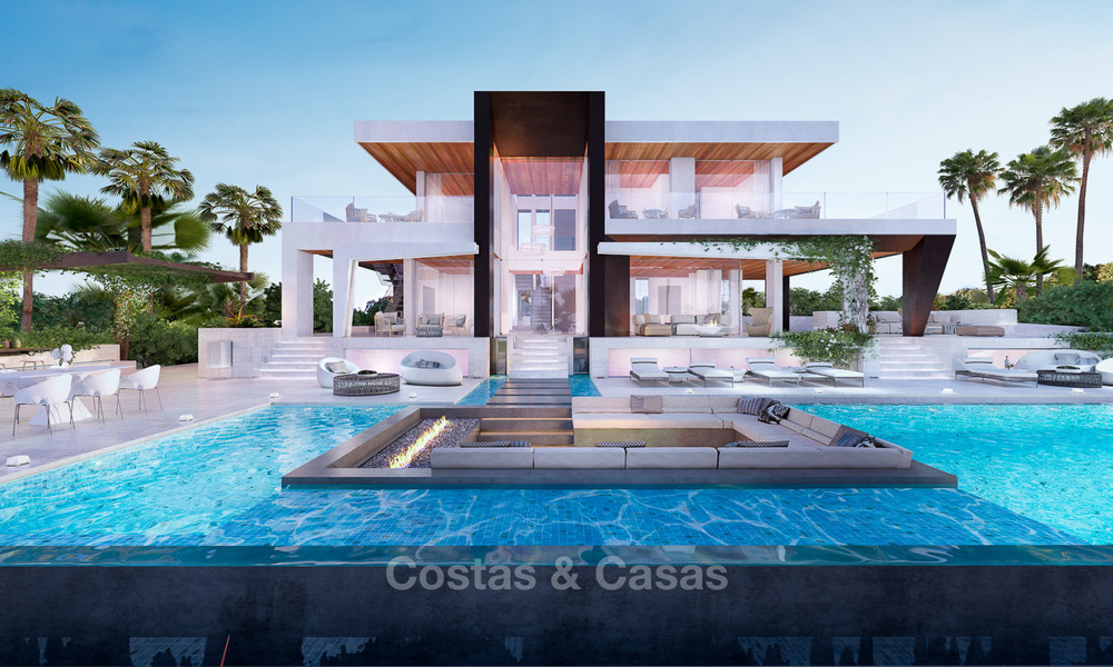 Two newly built luxurious, modern-contemporary villas for sale for the price of one, Nueva Andalucia, Marbella 4730