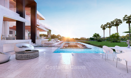 Two newly built luxurious, modern-contemporary villas for sale for the price of one, Nueva Andalucia, Marbella 4733