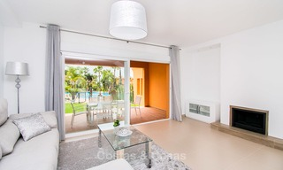 Freshly renovated, Andalusian style townhouses for sale, with sea views, ready to move in, Benahavis, Marbella 5942