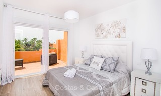 Freshly renovated, Andalusian style townhouses for sale, with sea views, ready to move in, Benahavis, Marbella 5950