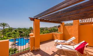 Freshly renovated, Andalusian style townhouses for sale, with sea views, ready to move in, Benahavis, Marbella 6139