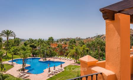 Freshly renovated, Andalusian style townhouses for sale, with sea views, ready to move in, Benahavis, Marbella 6140