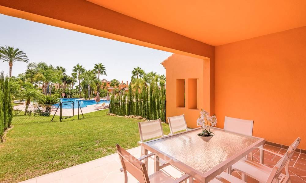 Freshly renovated, Andalusian style townhouses for sale, with sea views, ready to move in, Benahavis, Marbella 6141