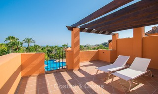 Freshly renovated, Andalusian style townhouses for sale, with sea views, ready to move in, Benahavis, Marbella 5968