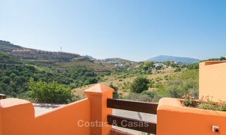 Freshly renovated, Andalusian style townhouses for sale, with sea views, ready to move in, Benahavis, Marbella 5973
