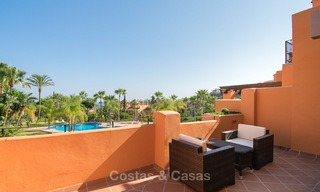 Freshly renovated, Andalusian style townhouses for sale, with sea views, ready to move in, Benahavis, Marbella 5976