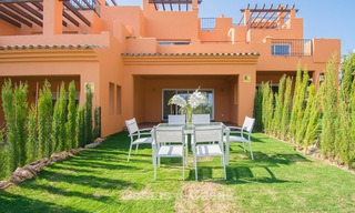 Freshly renovated, Andalusian style townhouses for sale, with sea views, ready to move in, Benahavis, Marbella 5980