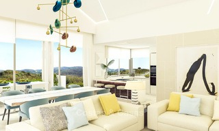 Modern luxury apartments for sale in a new development with spectacular sea views in Benahavis, Marbella 4839