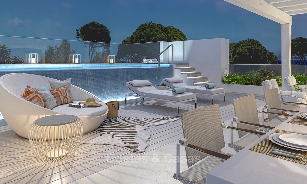 Modern luxury apartments for sale in a new development with spectacular sea views in Benahavis, Marbella 4843