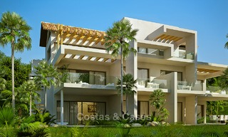 Modern luxury apartments for sale in a new development with spectacular sea views in Benahavis, Marbella 4846