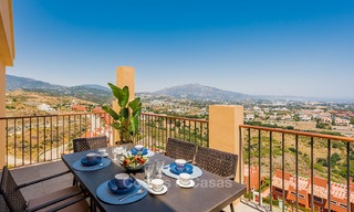 New, Andalusian style, luxury apartments with stunning sea views for sale, in Benahavis – Marbella 5069