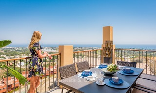 New, Andalusian style, luxury apartments with stunning sea views for sale, in Benahavis – Marbella 5068