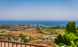 New, Andalusian style, luxury apartments with stunning sea views for sale, in Benahavis – Marbella 5074