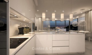 Modern luxury apartments for sale with uninterrupted sea views at a short drive from Marbella center. 4864