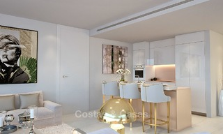 Modern-contemporary luxury apartments with marvellous sea views for sale, short drive to Marbella centre. 4913