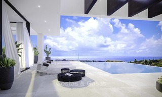 New modern-contemporary villas for sale, panoramic sea views, on the New Golden Mile between Marbella and Estepona 13984