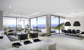 New modern-contemporary villas for sale, panoramic sea views, on the New Golden Mile between Marbella and Estepona 13985