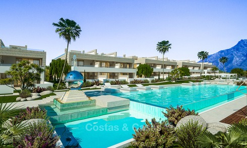 Cutting edge modern luxury apartments and penthouses for sale on the Golden Mile, Marbella 4973
