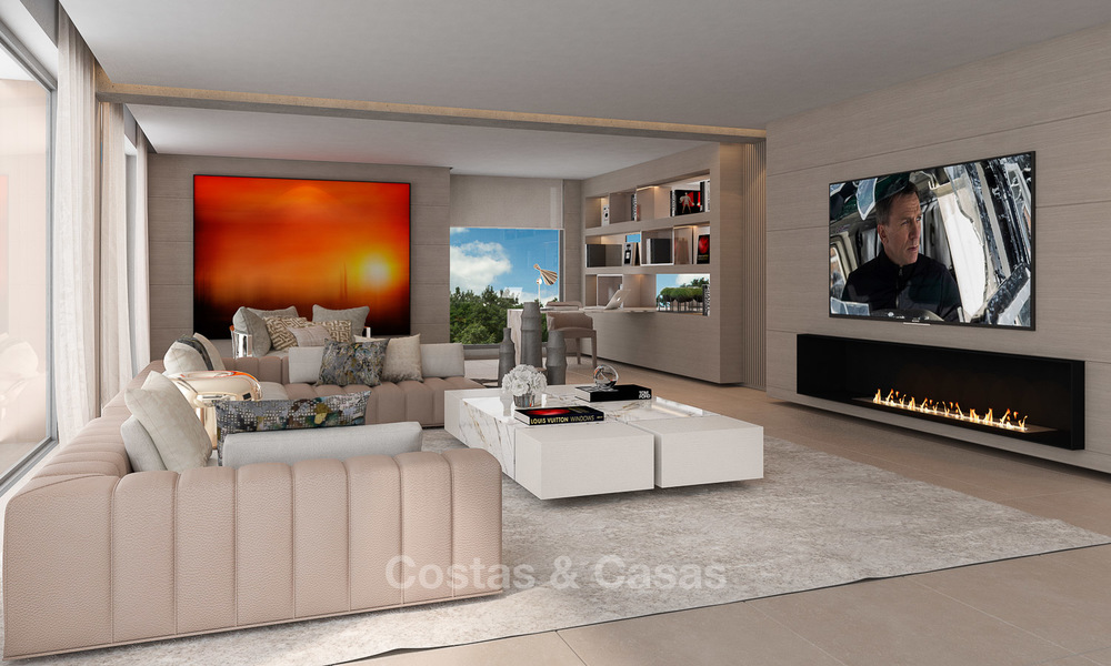 Exclusive modern luxury villas for sale, New Golden Mile, between Marbella and Estepona 5129