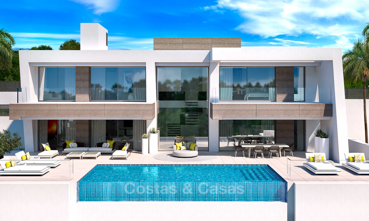 Exclusive modern luxury villas for sale, New Golden Mile, between Marbella and Estepona 5132