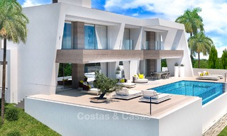 Exclusive modern luxury villas for sale, New Golden Mile, between Marbella and Estepona 5133